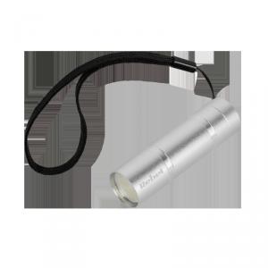 Latarka 1 W (COB) aluminiowa