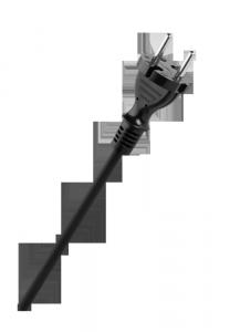 Przewód w gumie H05RR-F OW 2x1,5mm2 300/500V 3m