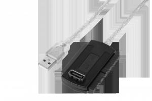 Konwerter USB na IDE 2,5 i 3,5 + S-ATA