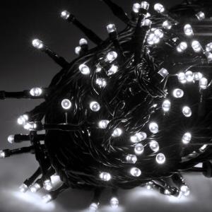 Lampki choinkowe LED Rebel zewnętrzne 10m,  zimne  białe, ze zmianą trybu świecenia