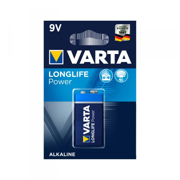 Bateria alkaliczna VARTA 9V LONGLIFE 1szt./bl.