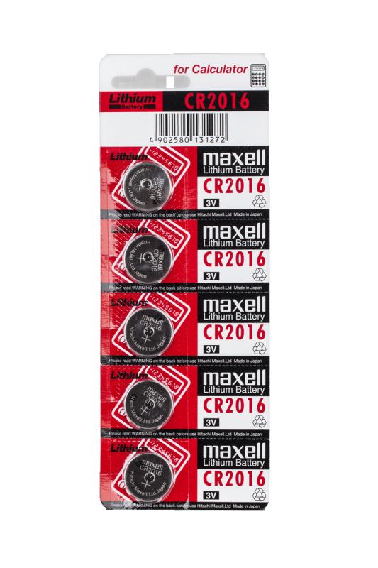 Bateria MAXELL CR2016 5szt./blist.