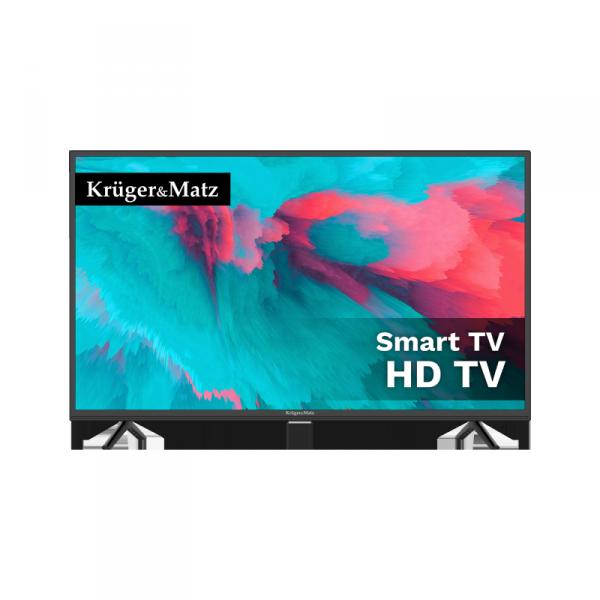 """Telewizor Kruger&Matz 32"""" HD smart DVB-T2/S2 H.265 HEVC"""