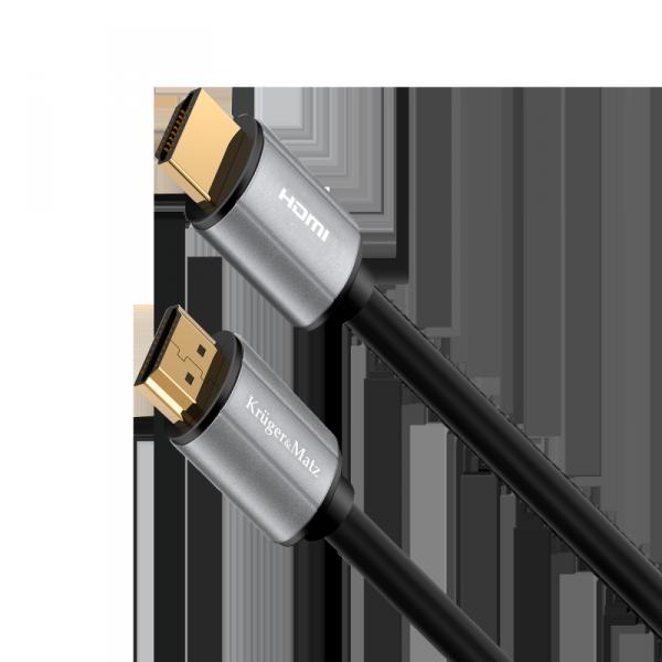 Kabel HDMI-HDMI 1m  Kruger&Matz Basic