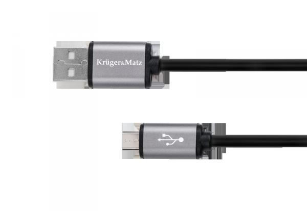 Kabel USB - micro USB 1.8m Kruger&Matz Basic