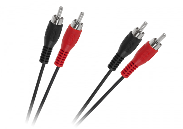 Kabel 2 x RCA - 2 x RCA 5m standard