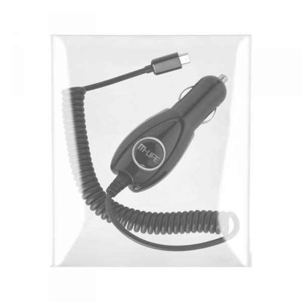 Ładowarka samochodowa M-LIFE micro USB  800 mA
