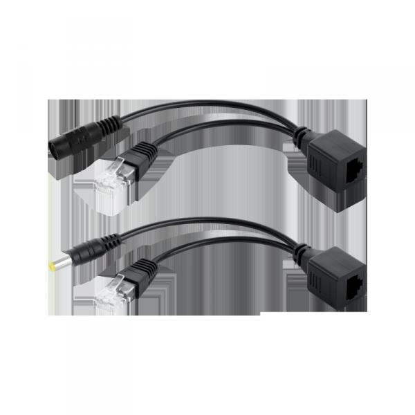 Adapter PoE - zasilanie LAN po skrętce Cabletech