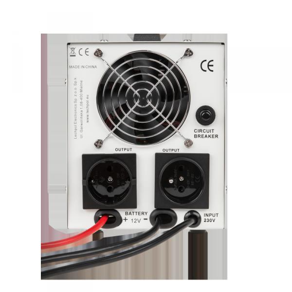 Zasilacz awaryjny KEMOT PROsinus-300  przetwornica z czystym przebiegiem sinusoidalnym i funkcją ładowania  12V 230V 500VA/300W