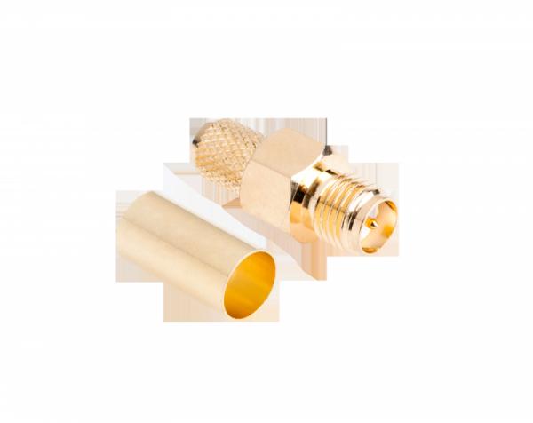 Gniazdo męskie SMA-RP H155 (pin męski) zacisk. zł