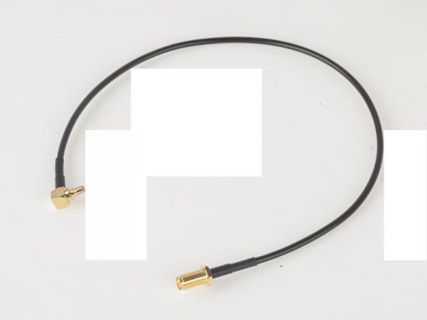 Konektor gn.SMA-twix CRC9/TS9 20cm