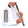Pasek do klarnetu B/A BG Leather C23E elastyczny
