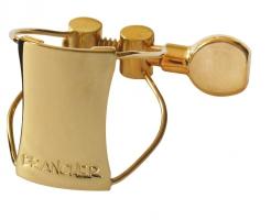 Ligaturka do saksofonu altowego Brancher gold wire