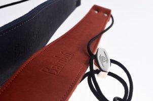 Pasek do klarnetu basowego Bambu CRT double leather (4 kolory)
