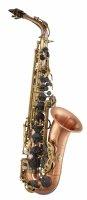 Saksofon altowy LC Saxophone A-803CB, vintage style, dark antique finish