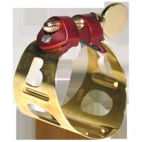 Ligaturka do saksofonu altowego BG DUO LD-1 pozłacana