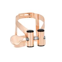 Ligaturka do saksofonu tenorowego Vandoren M/O pink gold