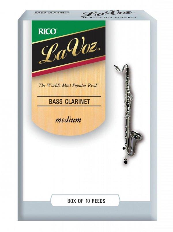 Stroiki do klarnetu basowego Rico La Voz
