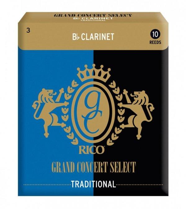 Stroiki do klarnetu B/A Rico Grand Concert Select Traditional