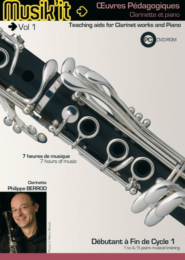 Płyta DVD Henri Selmer Paris Musik'it klarnet B/A vol. 1
