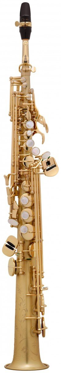 Saksofon sopranowy Henri Selmer Paris Serie III BGG GO brushed gold lacquer