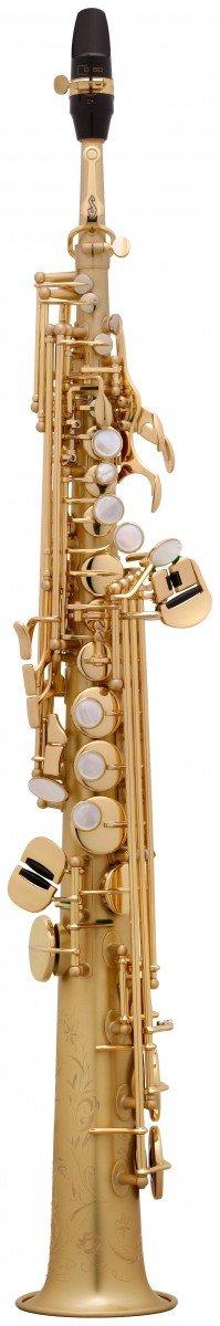 Saksofon sopranowy Henri Selmer Paris Serie III BGG GO brushed gold lacquer