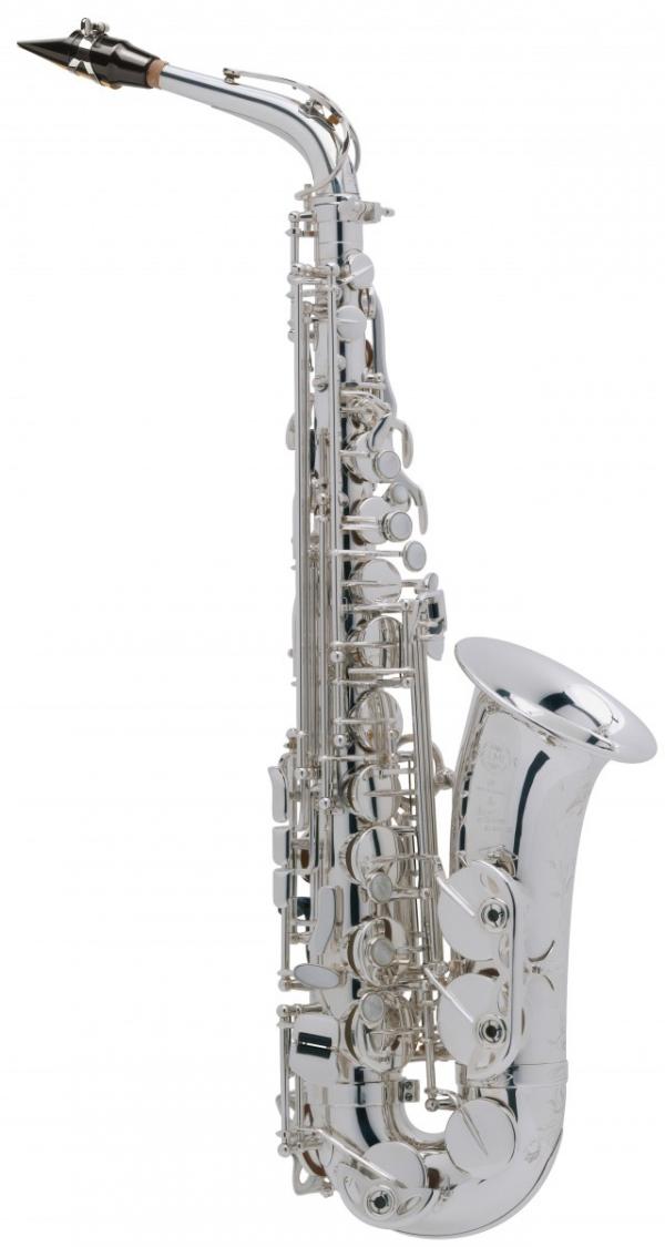 Saksofon altowy Henri Selmer Paris Super Action 80/Serie II AG silver plated