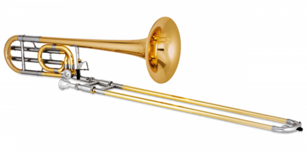 Puzon tenorowy Bb/F XO 1236RL rose brass
