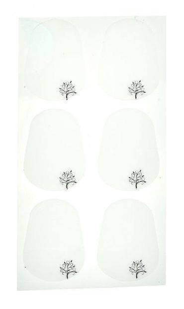Naklejki na ustnik Forestone (0.4 mm, duże)