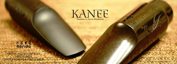 "Ustnik do saksofonu tenorowego Kanee Florida ""Vintage Jazz"" Copper Powder"