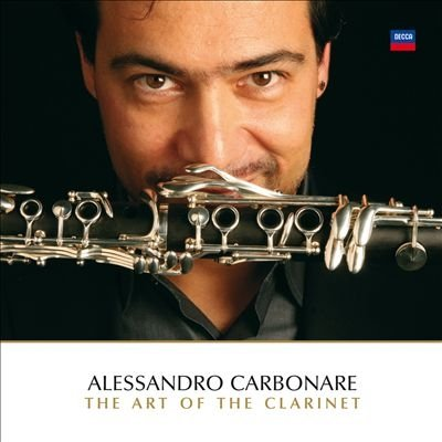 "Płyta CD Alessandro Carbonare ""The art of the Clarinet"""