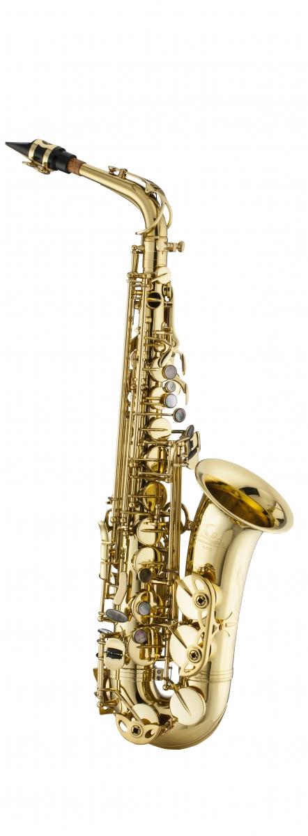 Saksofon altowy LC Saxophone A-700CL clear lacquer