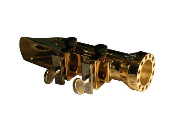 Ustnik do saksofonu altowego Bari Cyclone metal 6 grafitowy