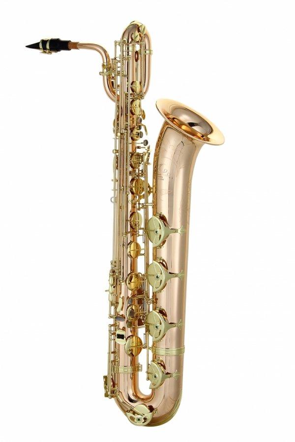 Saksofon barytonowy LC Saxophone B-602CL clear lacquer