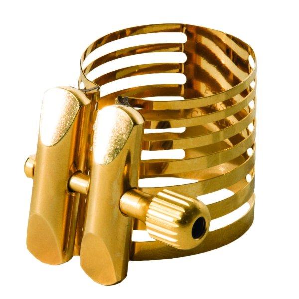 Ligaturka do saksofonu altowego Rovner Platinum Gold