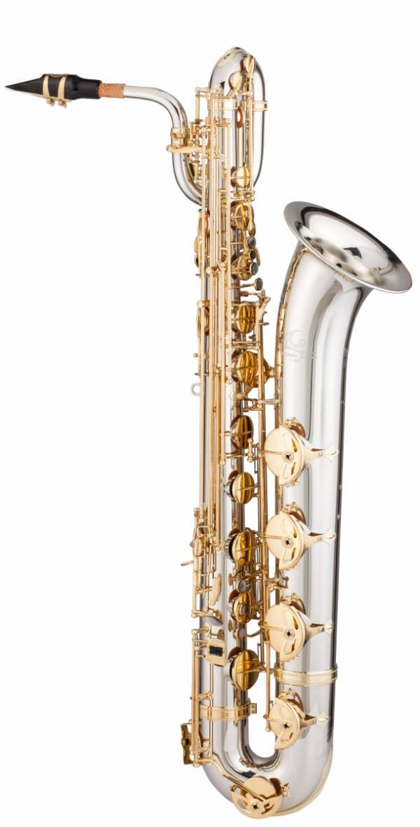 Saksofon barytonowy LC Saxophone B-604CL clear lacquer