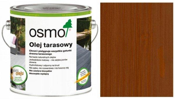 Olej Tarasowy Osmo 016 opak. 125 ml BANGKIRAI CIEMNY