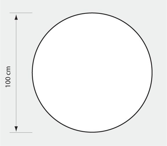 Mata ochronna okrągła (śr. 100 cm) EXTRAGRUBA