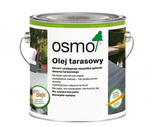 Osmo Olej Tarasowy 013 opak.0,75 L (garapa)