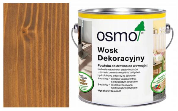 Osmo Wosk Olejny Dekoracyjny 3166 ORZECH opak. 0,75 L