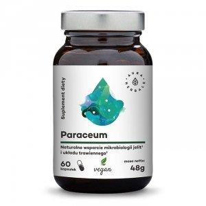 Paraceum - naturalne wsparcie jelit i trawienia - 60 kapsułek wegańskich Aura Herbals