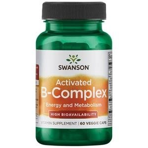 Swanson Activated B-Complex 60 kaps