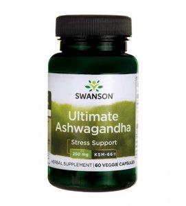 Swanson Ashwagandha KSM-66 250g 60 kaps