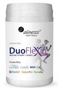 Aliness Duoflexin® 200 g, mocne stawy i kości 100% natural x 200 g proszek