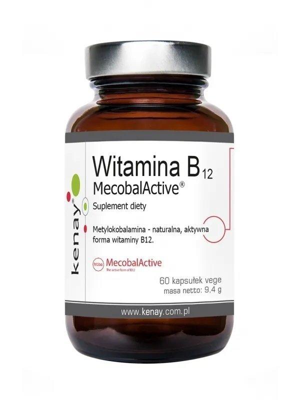 KENAY Witamina B12 (Metylokobolamina) 60 kaps.