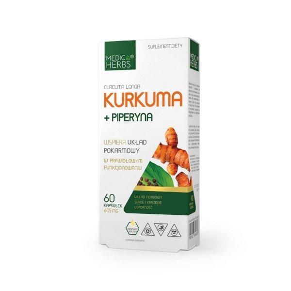 Medica Herbs Kurkuma + piperyna