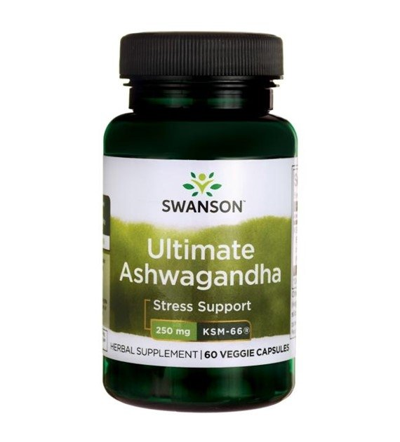 Swanson Ashwagandha KSM-66 250g 60 kaps SWU1003