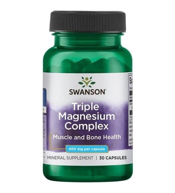 SWANSON Triple Magnesium Complex 30 kaps SW1243