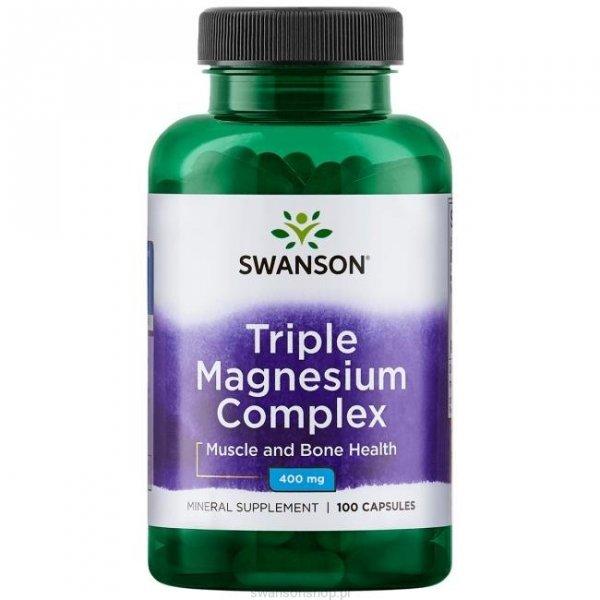Swanson Triple Magnesium complex 100 kaps SW808