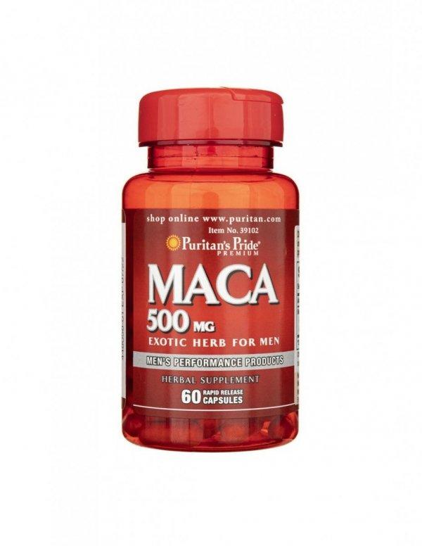 Maca Root Extract 500mg 60 caps Puritan's Pride